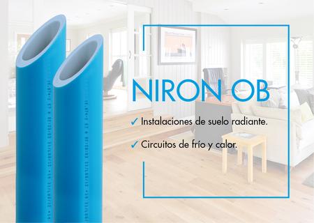 Nueva gama tubería OB del Sistema Niron