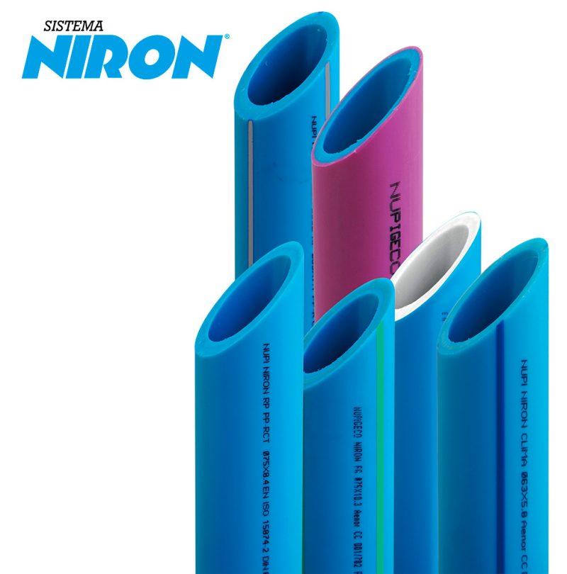 Sistema NIRON con tuberías de polipropileno PP-R