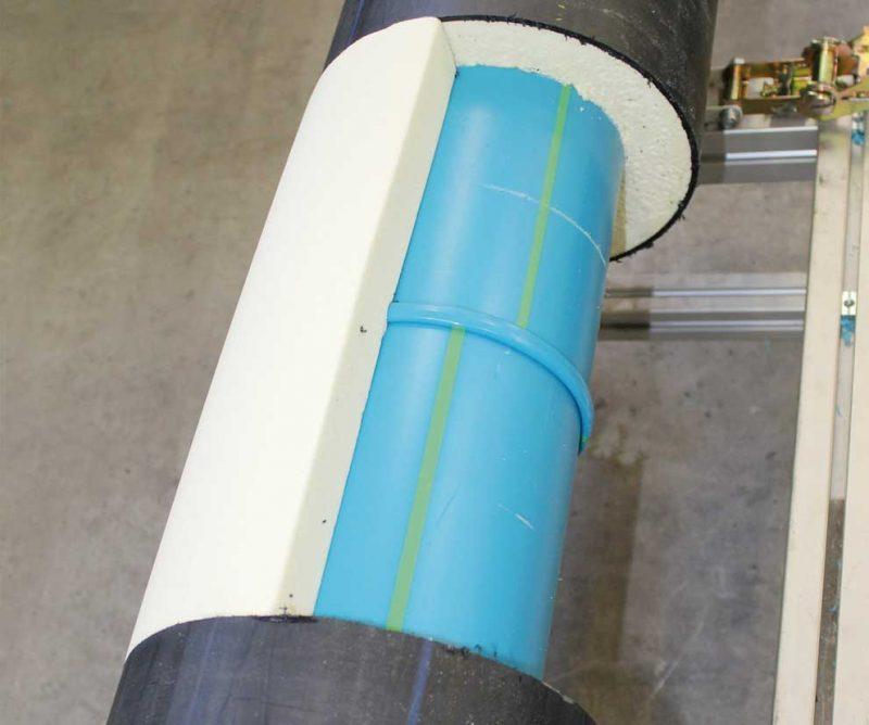 Sistema Niron Ais con tuberías de polipropileno pre-aislado