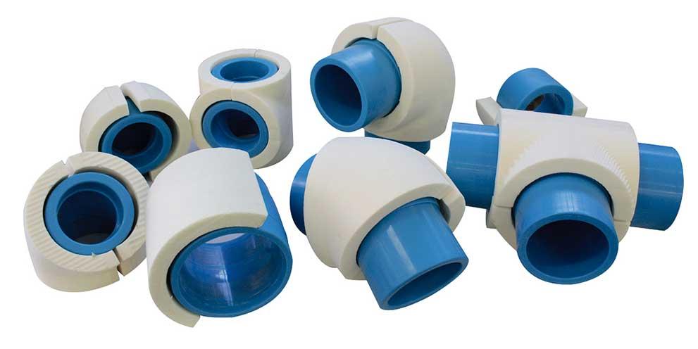 Moldes mecanizados de polipropileno