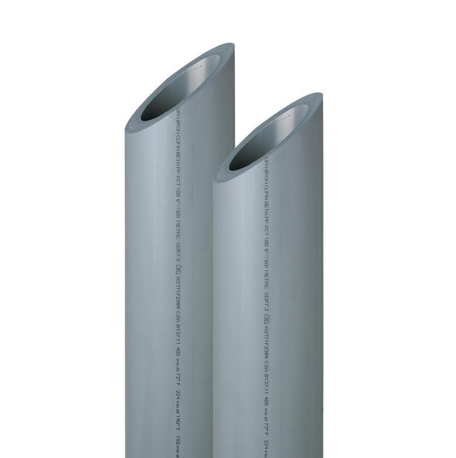 Sistema NIRON Premium con tuberías de polipropileno PP-RCT