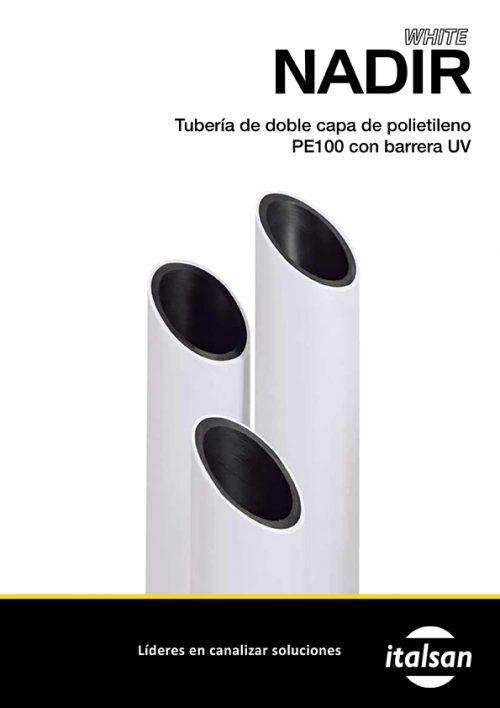 Catálogo Tuberóa doble capa de polietileno Nadir White