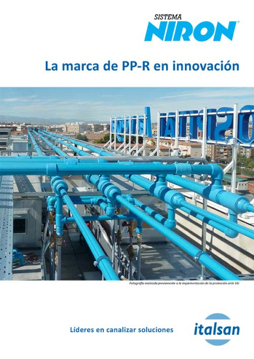 Tríptico Comercial PP-R NIRON