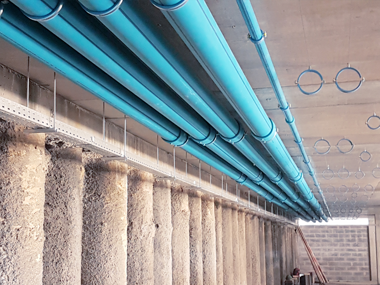 Instalación con tuberías Sistema NIRON Clima peru