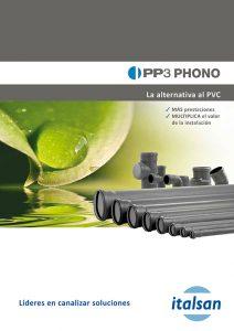Catálogo Evacuación de aguas PP3 PHONO